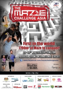 The Maze Challenge Asia 2014