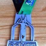 QCIM Night Run 2014 Medal
