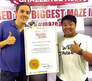 The Maze Challenge Asia - Malaysia Records Award