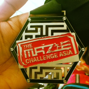 The Maze Challenge Asia - Medal