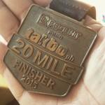 Takbo.ph 20 Miler Medal