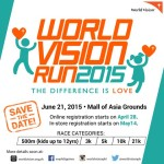 World Vision Run 2015 Save the Date