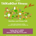 TAlKaBOut Fitness for Moms Poster