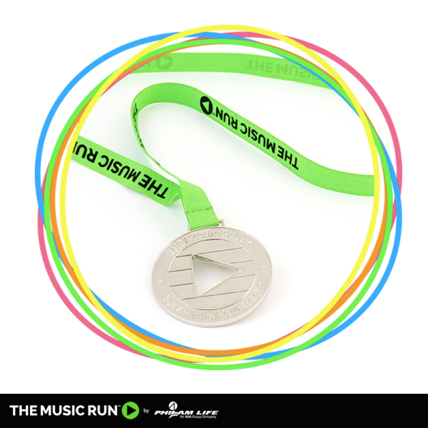 The Music Run 2015 Manila Medal