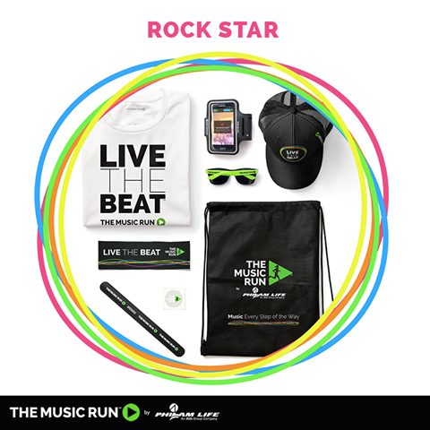 The Music Run 2015 Rock Star Event Package