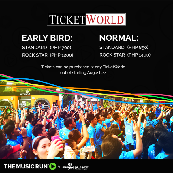 The Music Run Manila 2015 Registration