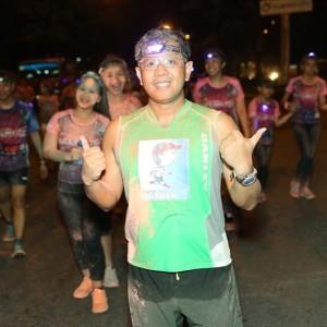 Franc Ramon Color Manila Nite Run 2015