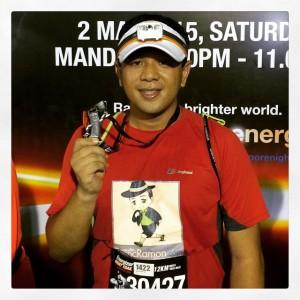 Franc Ramon Energizer Night Run Singapore 2015