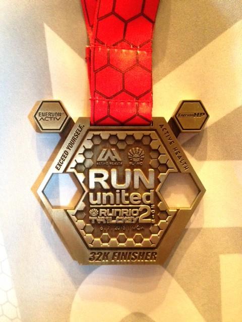 Run United Philippine Marathon 2015 Medal