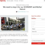 Petition to Ban Marathons in Manila at Change.org