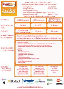 Cardimax-Clark Ultramartahon 2015 Registration