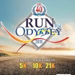 CDO @ 40 Run for Odyssey 2015 Poster