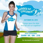 Heroes for Children Run 2015 500m/5/10/21K