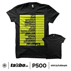 TakboPH Run Lang - Black
