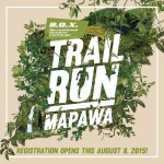 Trail Run Mapawa 2015 Teaser