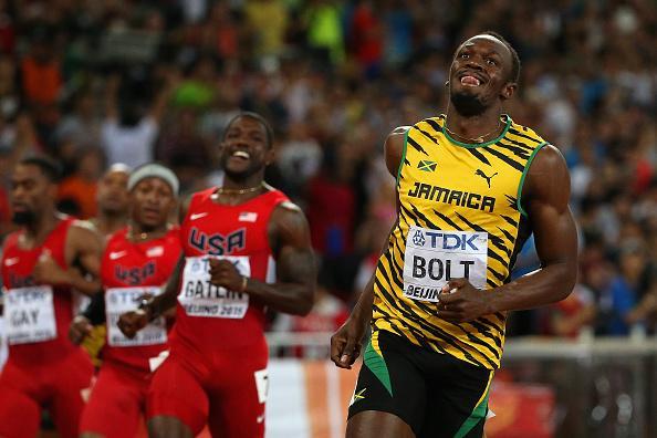 Usain Bold 100m IAAF Beijing 2015
