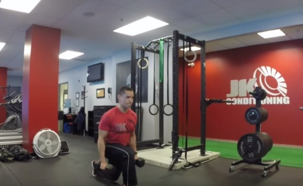 Video - Dumbbell Exercises for Faster Running