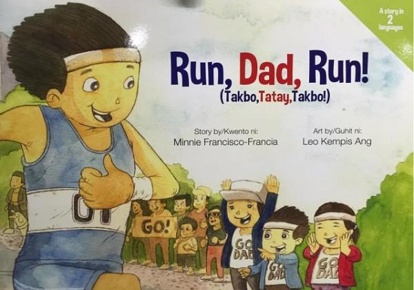 Run Dad Run Children's Book