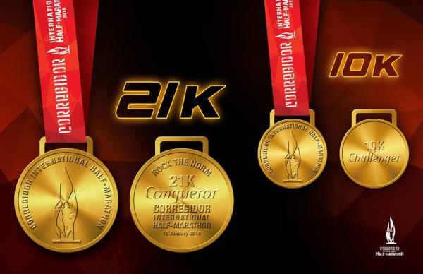 Corregidor International Half Marathon 2016 Medal