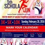 5th AmCham ScholaRUN 2016 3/5/10K (BGC)