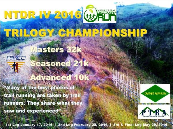 NTDR IV Trilogy Championship IV 2016 Poster