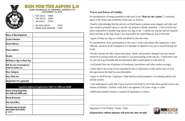 Soleus Run for the Aspins 2015 Reg Form New