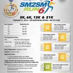 SM2SM Run 6 2016 3/6/12/21K (Cebu)