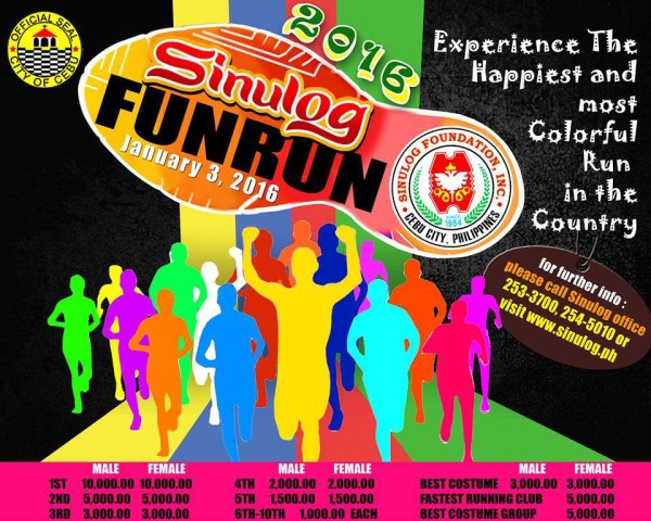 Sinulog Fun Run 2016 Poster