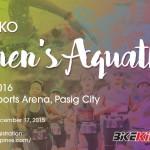 Atleta Ako Women's Aquathlon 2016 Poster