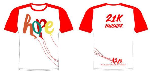 Hope Run 21K Finisher Web