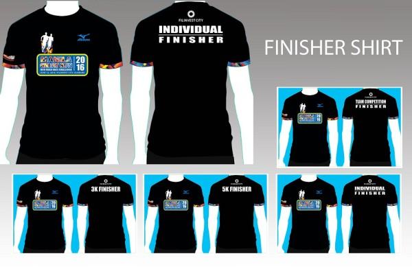 Manila Great Run Duo Road Race Challenge 2016 Finisher Shirt