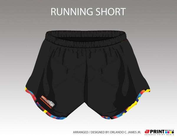 Manila Great Run Duo Road Race Challenge 2016 Shorts