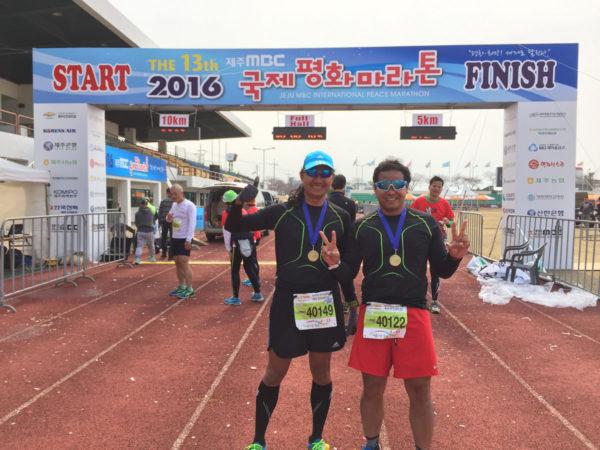 Jeju Marathon Finishers