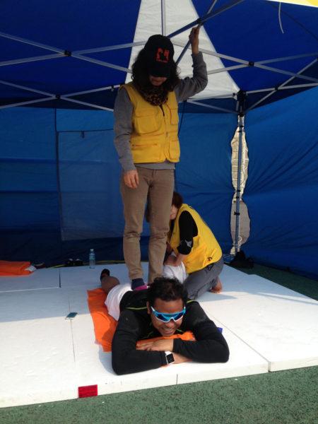 Jeju_Marathon - Finisher Massage
