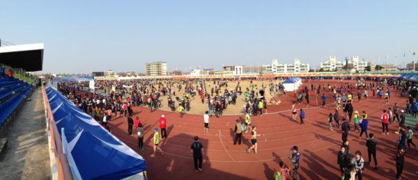 Jeju_Marathon - Hallim Stadium