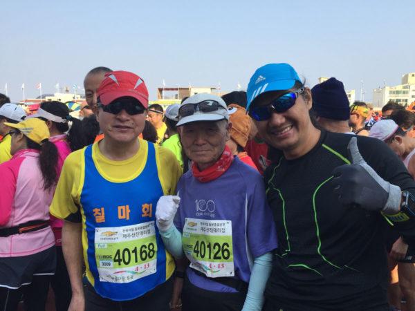 Jeju_Marathon - Senior Runners