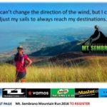 Mt. Sembrano Mountain Run 2016 15/30K (Rizal)