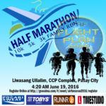 69th PAF Anniversary Fun Run 2016 3/5/10/21K (CCP)