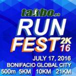 Takbo.ph RunFest 2016 500m/5/10/21K (BGC)