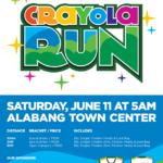Crayola Run 2016 500m/3/5K (Alabang)
