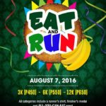 Eat And Run 2016 3/6/12K (Cebu)