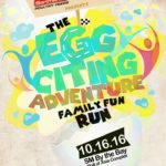 The Eggciting Adventure Family Fun Run 2016 (MOA)