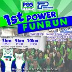 1st Power Fun Run 2016 Poster