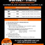 Splendido Sunset Run 2016 Edition 5/10/21K (Batangas)