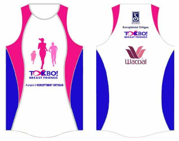 Takbo Breast Friends 2016 Singlet