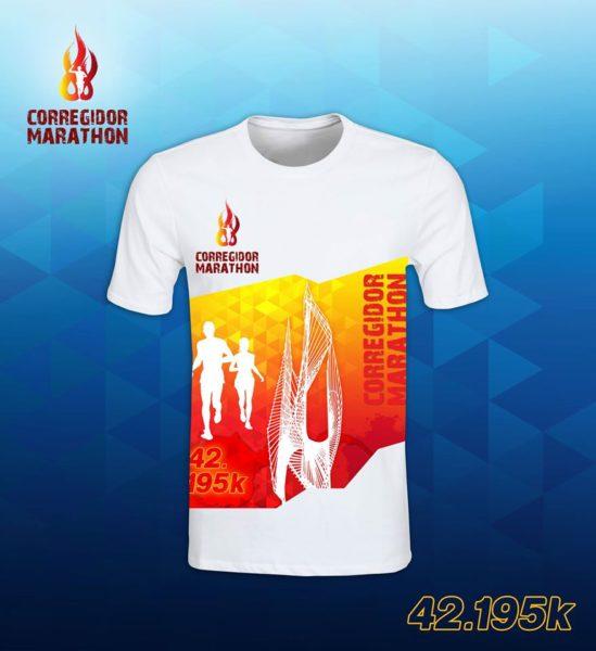 corregidor marathon 2017 shirt