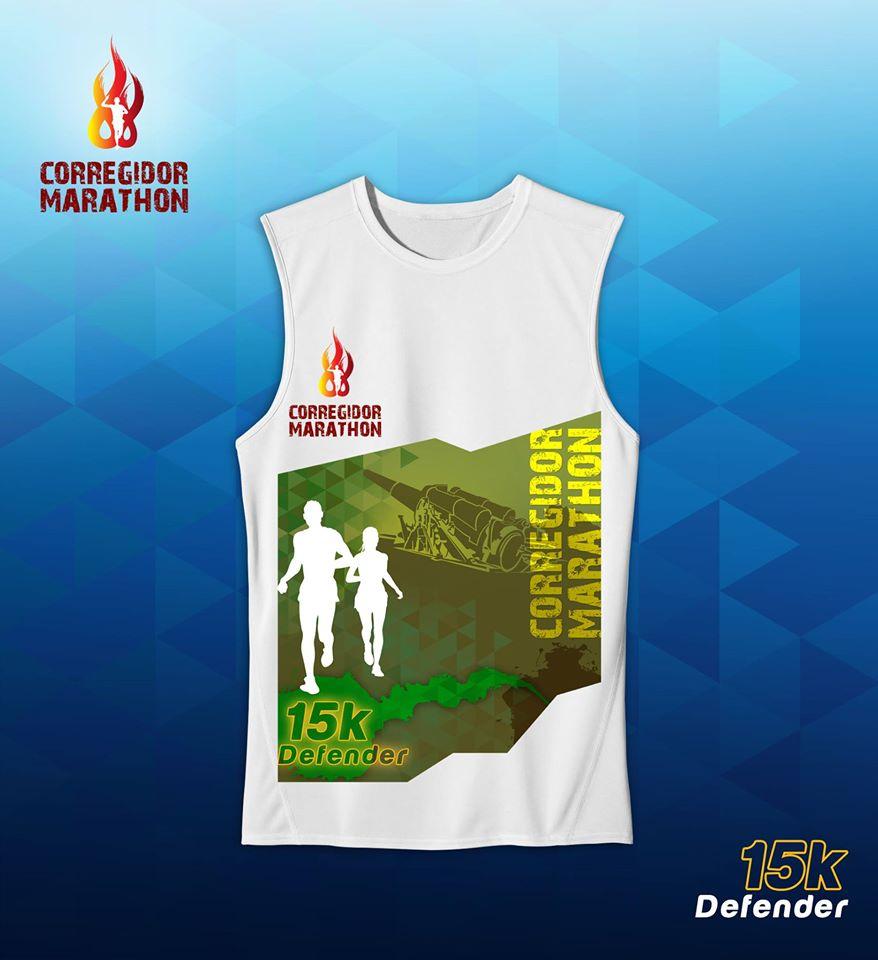 corregidor marathon 2017 singlet