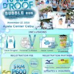 Raise D Roof Bubble Run 2016 5K (Cebu)