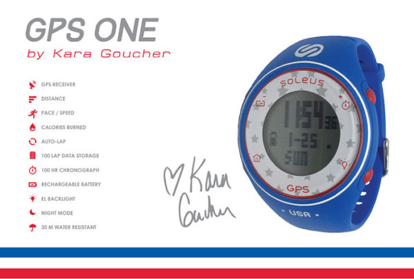 Soleus Signature Series GPS One Kara Goucher