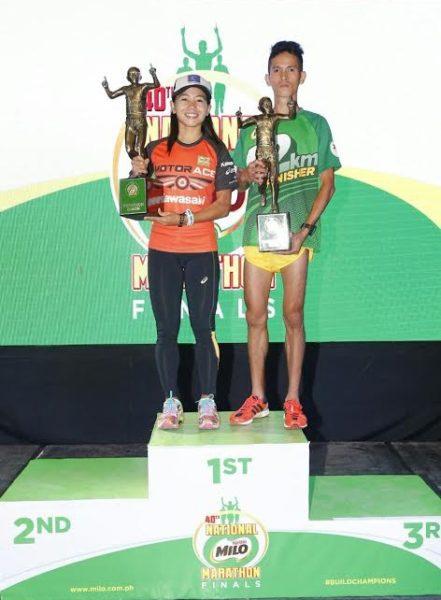 40st National MILO Marathon Race Results